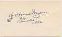 Lot #431  3 x 5  Wagner, Honus (1942, superb) Cond: 9