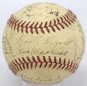 Lot #512 1942 Giants  Team Ball w/Ott Cond: 7