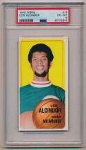 Lot #723 1970 Topps # 75 Alcindor Cond: PSA 6