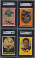 Lot #774 1958 Topps  Complete Set w/o Brown Cond: Ex+