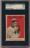 Lot #155 1915 Cracker Jack # 36 Ed Walsh Cond: SGC 1.5