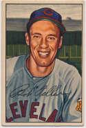 Lot #438 1952 Bowman # 43 Feller Cond: Ex