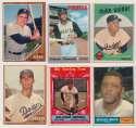 Lot #629 1957   1950s - 1970s Card Binder w/major stars (208 cards)