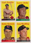 Lot #658 1958 Topps  172 different commons Cond: Ex+