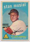 Lot #664 1959 Topps # 150 Musial Cond: Good