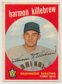 Lot #686 1959 Topps # 515 Harmon Killebrew Cond: Ex
