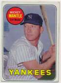 Lot #917 1969 Topps # 500.1 Mantle  Cond: VG