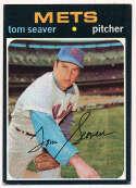 Lot #961 1971 Topps # 160 Seaver Cond: Ex