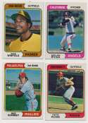 Lot #1013 1974 Topps  Complete Set Cond: Ex-Mt/NM