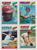 Lot #1033 1977 Topps  Complete Set Cond: Ex+