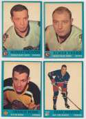 Lot #1348 1962 Topps  16 assorted commons Cond: Ex
