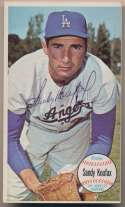 Lot #34 1964 Topps Giant # 3 Sandy Koufax Cond: 8