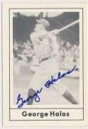 Lot #58 1978 Grand Slam # 49 George Halas (JSA LOAA) Cond: 9.5