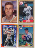 Lot #96 1990   Lot of 142 signed cards w/many HOFers, Stars Cond: 9