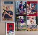 Lot #102 2000   Lesser All Sports Signed Insert/Relic Card Lot (55  pcs) Cond: 9.5