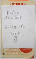 Lot #283  Album Page  Circa 1978 Red Sox Autograph Book w/HOFers (25 sigs) Cond: 9.5