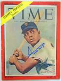 Lot #431  Program  Mays, Willie Signed 1954 Time Magazine Cond: 9.5