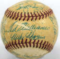 Lot #780 1955 Red Sox  Team Ball Cond: 5