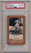 Lot #971 1975 Fleer Immortal Roll # 37 Marion Motley (PSA Slabbed) Cond: 6
