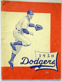 Lot #1520 1950 Yearbook  Brooklyn Dodgers Cond: VG-Ex