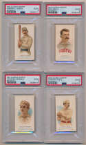 Lot #2 1887 N28 Allen and Ginter  Complete 50-Card Set!