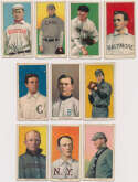 Lot #5 1909 T206  228 different commons Cond: VG w/nicer