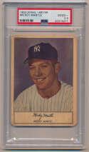 Lot #14 1953 Stahl Meyer  Mickey Mantle Cond: PSA 2.5