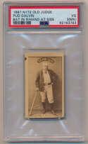 Lot #35 1887 N172 Old Judge  Pud Galvin Cond: PSA 3 mk