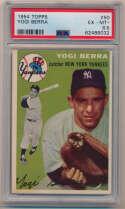 Lot #153 1954 Topps # 50 Berra Cond: PSA 6.5