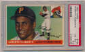 Lot #177 1955 Topps # 164 Roberto Clemente RC Cond: PSA 4.5