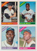 Lot #387 1966 Topps  Complete Set Cond: NM