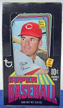 Lot #393 1971 Topps Supers  Unopened 10 Cent Box
