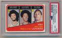 Lot #454 1972 Topps # 263 Rebound LL w/Erving Cond: PSA 8