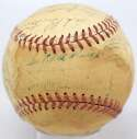 Lot #673 1949 Indians  Team Ball w/Paige Cond: 5