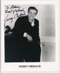 Lot #747  8 x 10  Orbach, Jerry  (JSA LOAA) Cond: 9.5