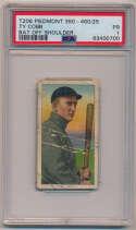 Lot #32 1909 T206  Cobb Bat Off Shoulder Cond: PSA 1