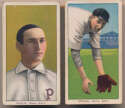 Lot #33 1909 T206  Pair of Doolan Cards Cond: GVG/VG
