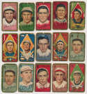 Lot #74 1911 T205  Lot of 23 commons, mainly different