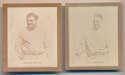 Lot #121 1930 Ray O Print  Ruth and Gehrig