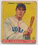 Lot #136 1933 Goudey # 58 O'Doul Cond: Fair-Good