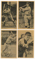 Lot #225 1937 R314 Sepia  Lot of 11 different w/Appling & Doerr Cond: VG