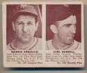 Lot #298 1941 Double Play # 139 Arnovich, Hubbell Cond: VG