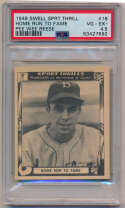 Lot #307 1948 Swell Sport Thrills # 18 Pee Wee Reese Cond: PSA 4.5