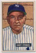 Lot #339 1951 Bowman # 181 Stengel Cond: VG