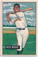 Lot #344 1951 Bowman # 238 Reiser Cond: VG-Ex/Ex