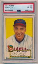 Lot #377 1952 Topps # 88 Feller Cond: PSA 4