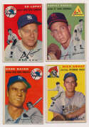 Lot #463 1954 Topps  308 assorted cards