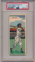 Lot #521.2 1955 Topps Doubleheader # 105 Hank Aaron Cond: PSA 3