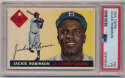 Lot #537 1955 Topps # 50 Jackie Robinson Cond: PSA 3