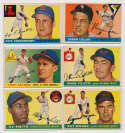 Lot #548 1955 Topps  28 high numbers, mostly different Cond: VG to VG-Ex